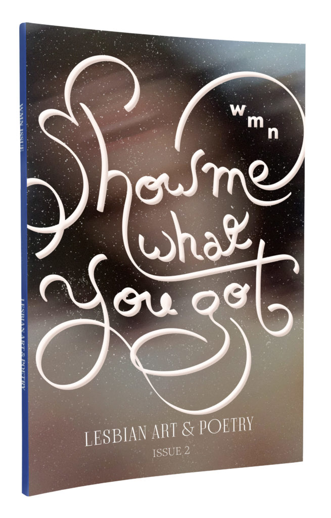 "Cover of WMN Lesbian Art and Poetry   Issue 2 ""Show Me What You Got"""